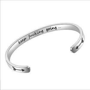NEW! Stainless Steel ...going bracelet